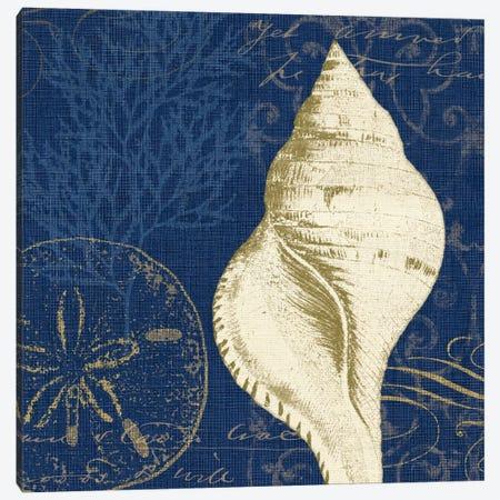 Coastal Moonlight IV Canvas Print #WAC2041} by Pela Studio Canvas Art Print