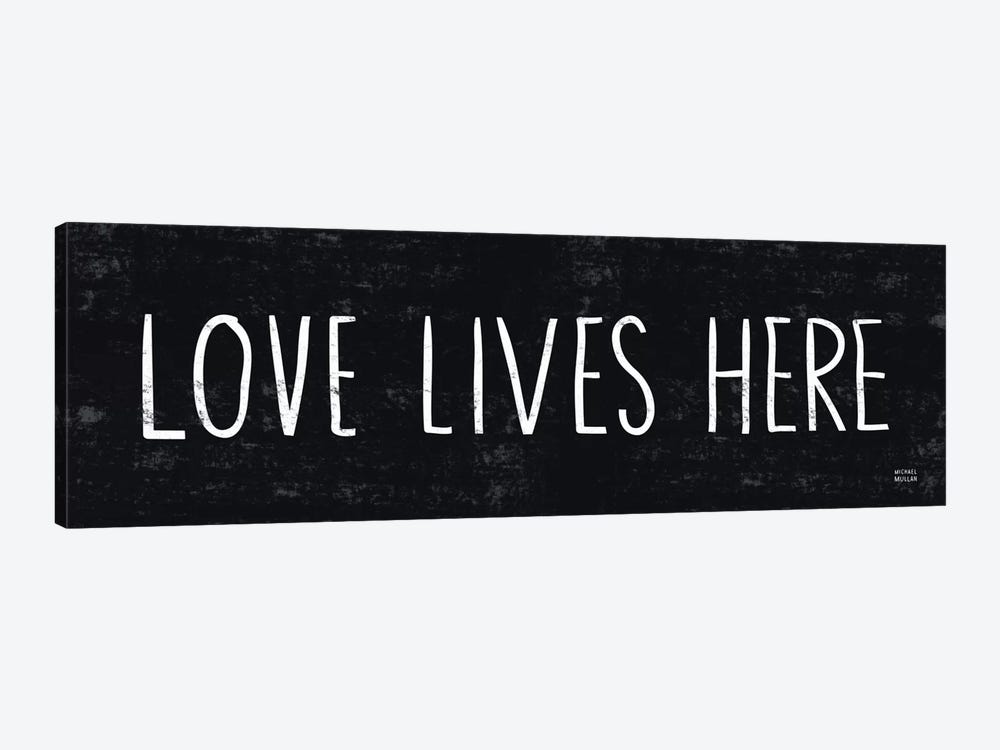 Love Lives Here by Michael Mullan 1-piece Canvas Wall Art