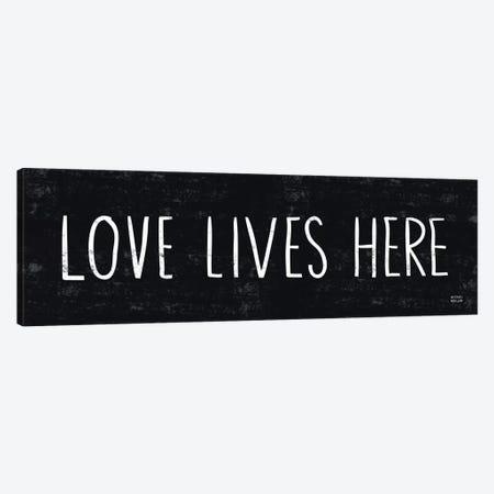 Love Lives Here Canvas Print #WAC2046} by Michael Mullan Canvas Wall Art
