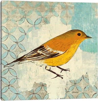 Pine Warbler Canvas Print #WAC2047