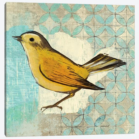 Wilsons Warbler II Canvas Print #WAC2048} by Kathrine Lovell Canvas Art Print