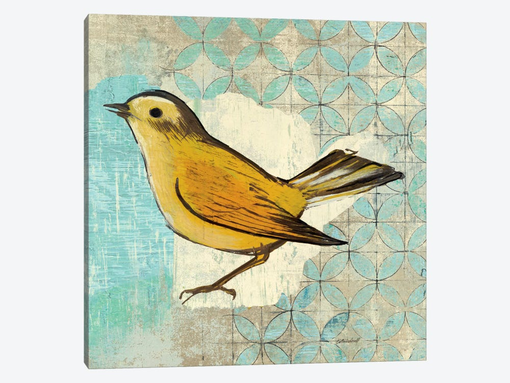 Wilsons Warbler II by Kathrine Lovell 1-piece Canvas Art