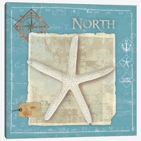 Points North Canvas Print #WAC2049} by Belinda Aldrich Art Print