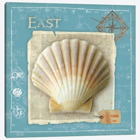 Points East Canvas Print #WAC2050} by Belinda Aldrich Canvas Wall Art