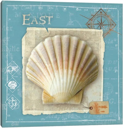 Points East Canvas Art Print