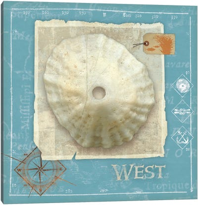 Points West Canvas Art Print