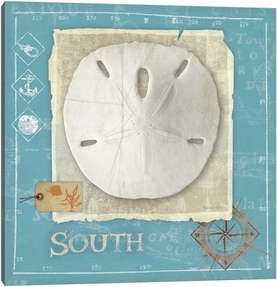 Points South Canvas Art Print