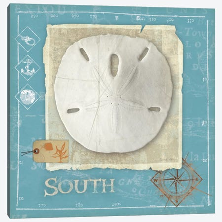 Points South 3-Piece Canvas #WAC2052} by Belinda Aldrich Canvas Art