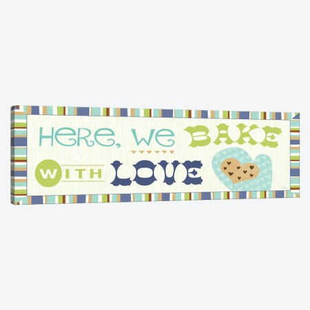 Luv 2 Bake II Canvas Print #WAC2063} by Pela Studio Art Print