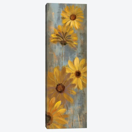 Yellow Gerberas II Canvas Print #WAC2086} by Silvia Vassileva Canvas Artwork