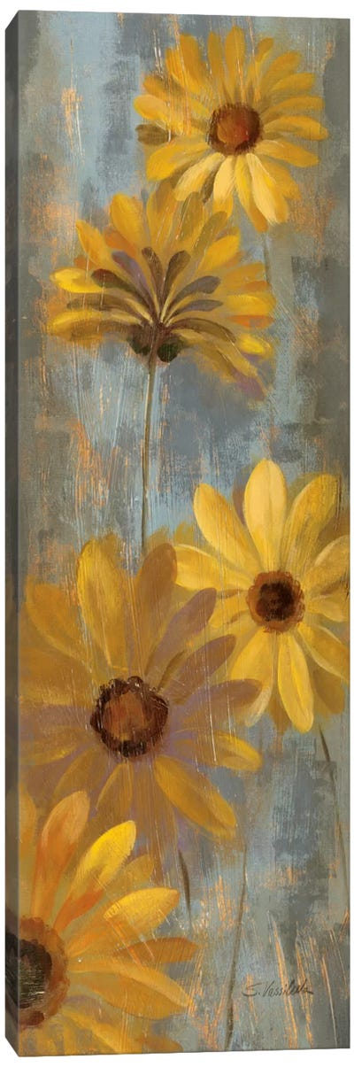 Yellow Gerberas II Canvas Print #WAC2086