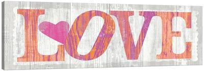 Driftwood Love Canvas Print #WAC2095