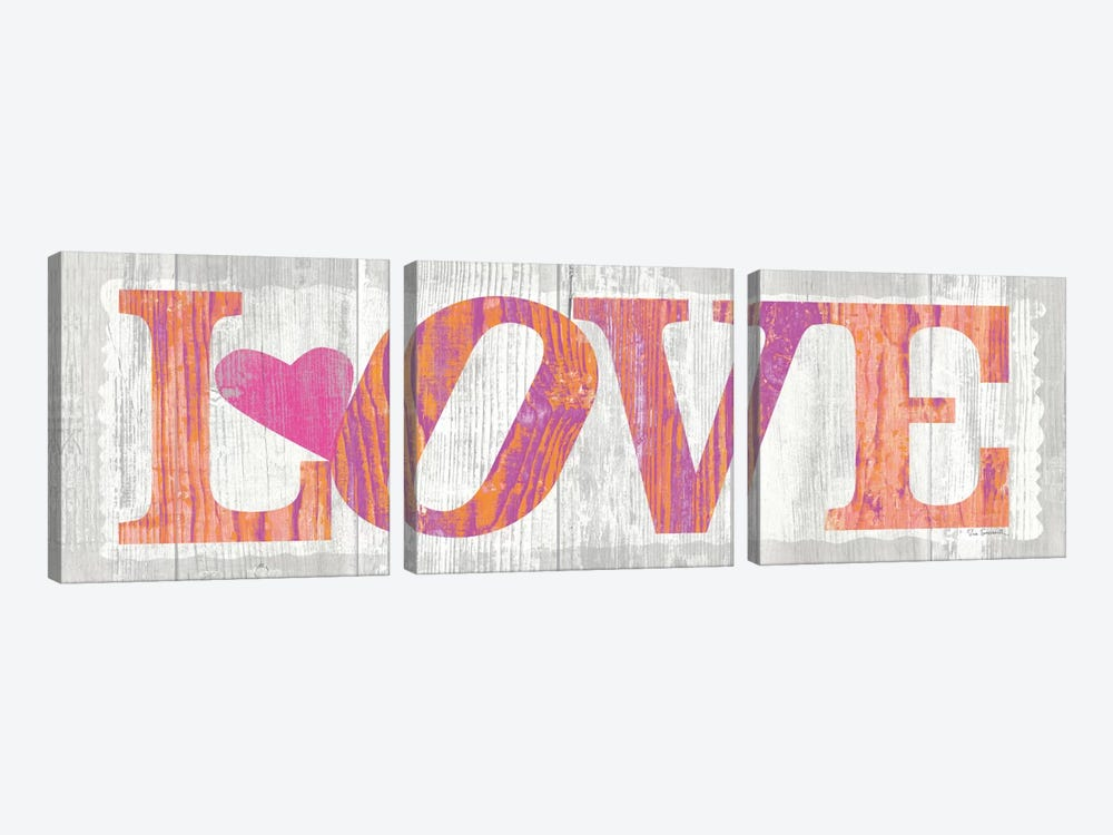 Driftwood Love by Sue Schlabach 3-piece Canvas Artwork