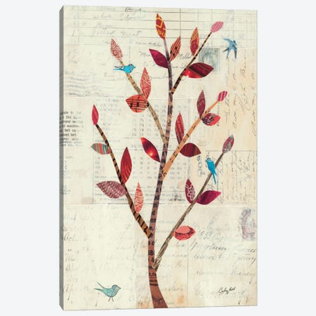 Red Leaf Tree no Border Canvas Print #WAC2096} by Courtney Prahl Canvas Print
