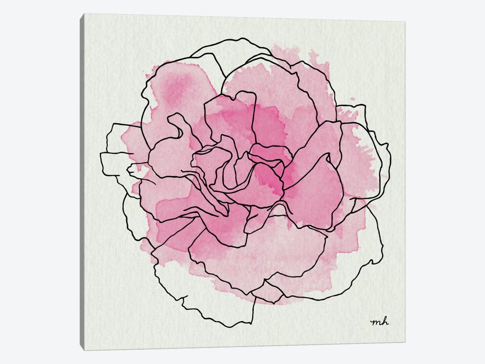 Watercolor Floral III by Moira Hershey 1-piece Art Print