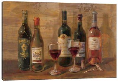Wine Tasting Canvas Print #WAC210