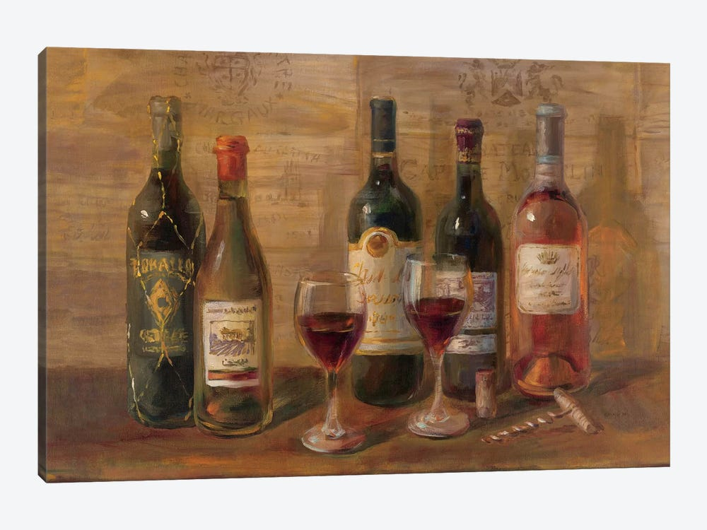 Wine Tasting by Danhui Nai 1-piece Canvas Artwork