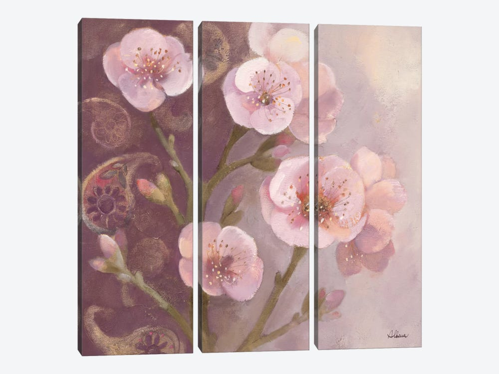 Gypsy Blossoms I 3-piece Art Print