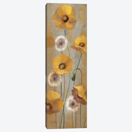 Spring Poppies I  Canvas Print #WAC2124} by Silvia Vassileva Art Print
