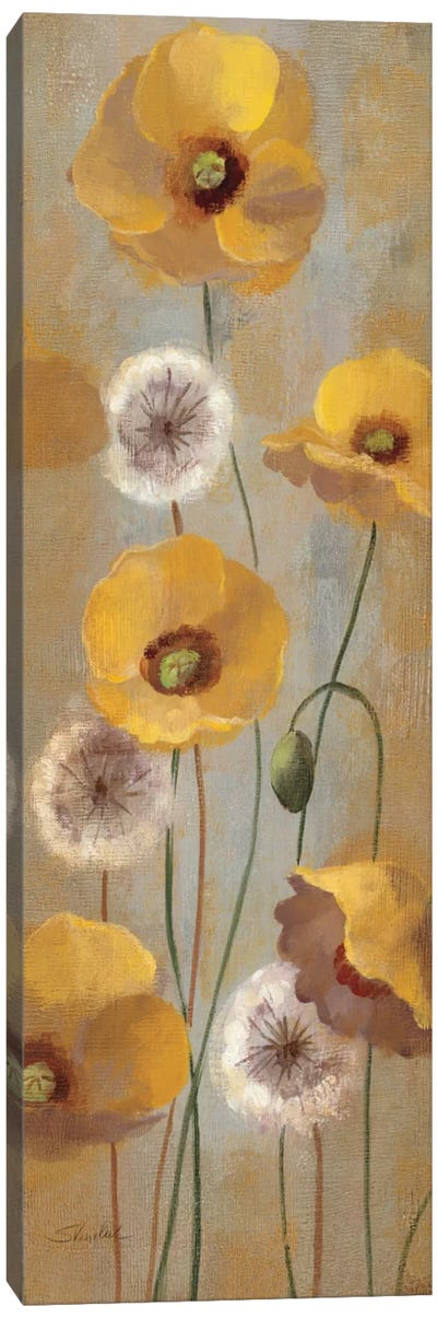 Spring Poppies I  Canvas Print #WAC2124