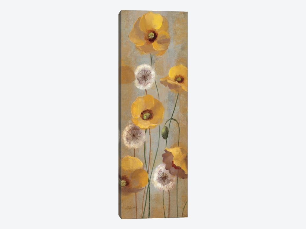 Spring Poppies I 1-piece Canvas Print