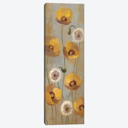 Spring Poppies II  Canvas Print #WAC2125} by Silvia Vassileva Canvas Art Print