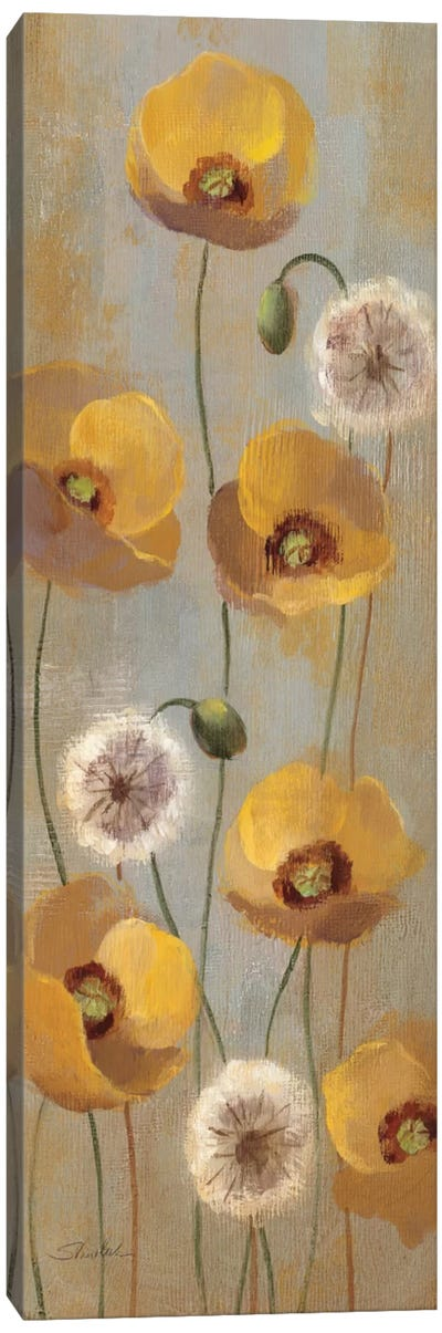 Spring Poppies II  Canvas Print #WAC2125