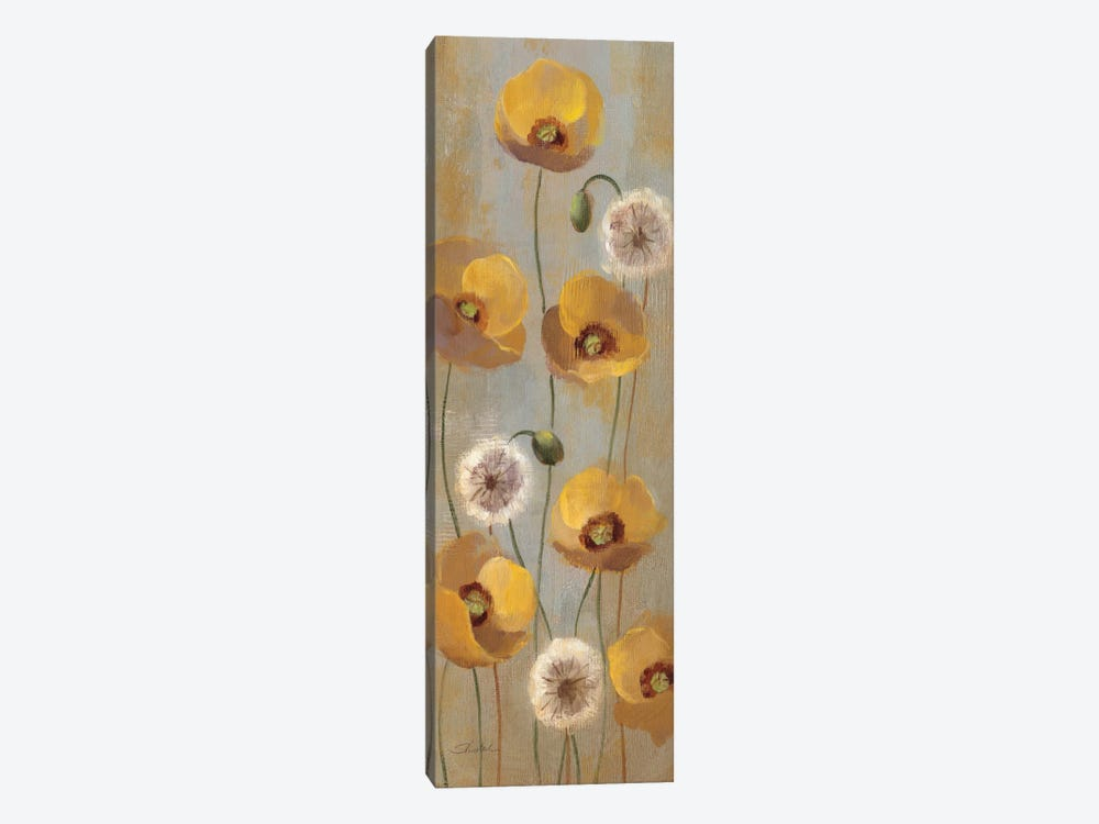 Spring Poppies II by Silvia Vassileva 1-piece Canvas Wall Art
