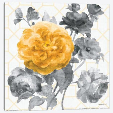 Geometric Watercolor Floral II  Canvas Print #WAC2128} by Danhui Nai Canvas Art