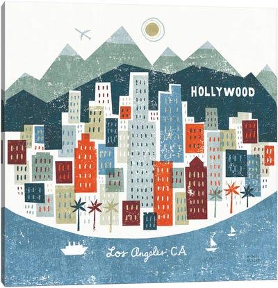 Colorful Los Angeles  Canvas Print #WAC2133