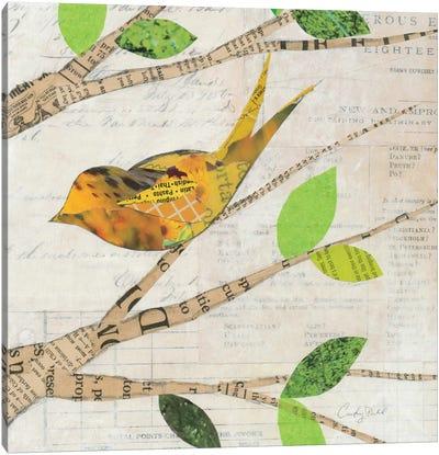 Birds in Spring II  Canvas Print #WAC2135