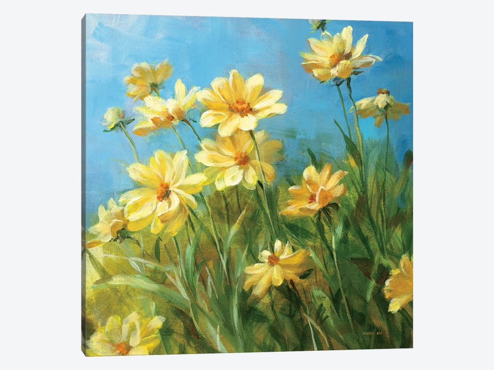 Summer Field I 1-piece Canvas Print