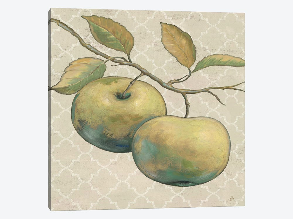 Lovely Fruits II Neutral Crop by Daphne Brissonnet 1-piece Canvas Art Print