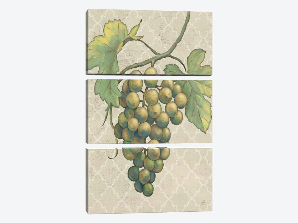 Lovely Fruits IV Neutral Crop 3-piece Canvas Wall Art