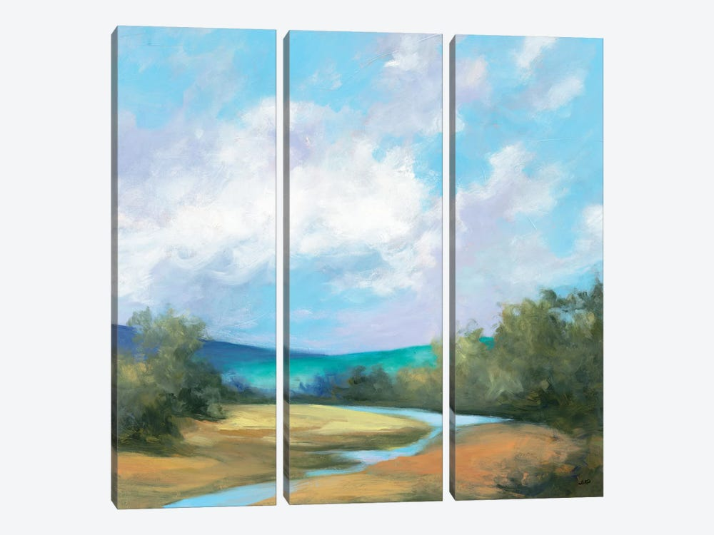 Hedgerow II by Julia Purinton 3-piece Canvas Artwork