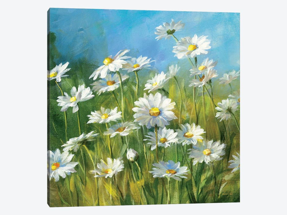 Summer Field II by Danhui Nai 1-piece Canvas Artwork