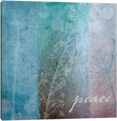 Ethereal Inspirational Square I  Canvas Print #WAC2151