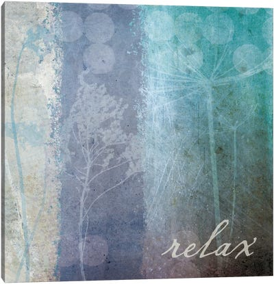 Ethereal Inspirational Square II  Canvas Art Print