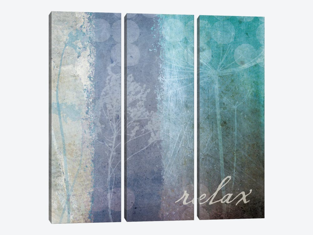 Ethereal Inspirational Square II by Wild Apple Portfolio 3-piece Canvas Art