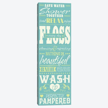 Wash Up II  Canvas Print #WAC2162} by Pela Studio Canvas Artwork