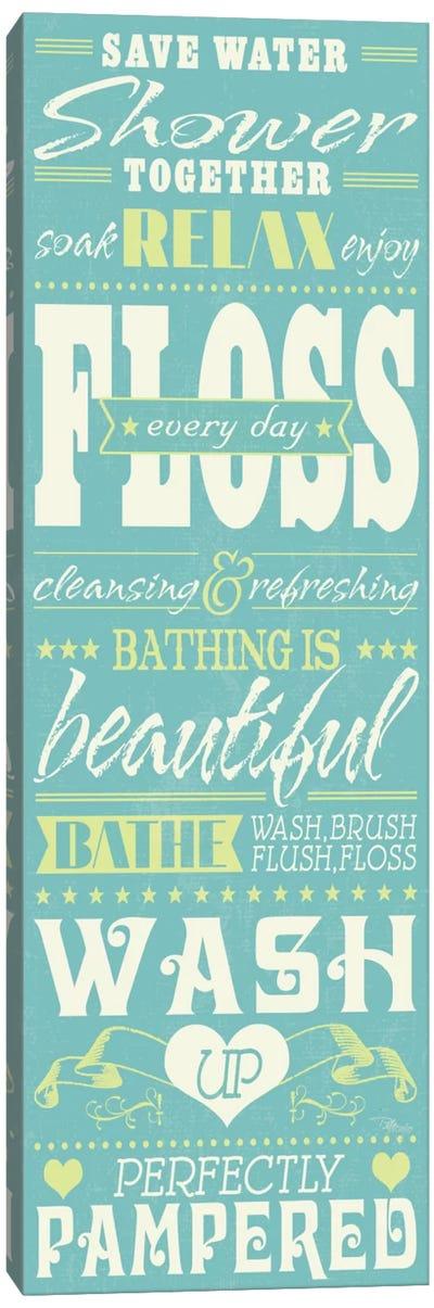 Wash Up II  Canvas Art Print