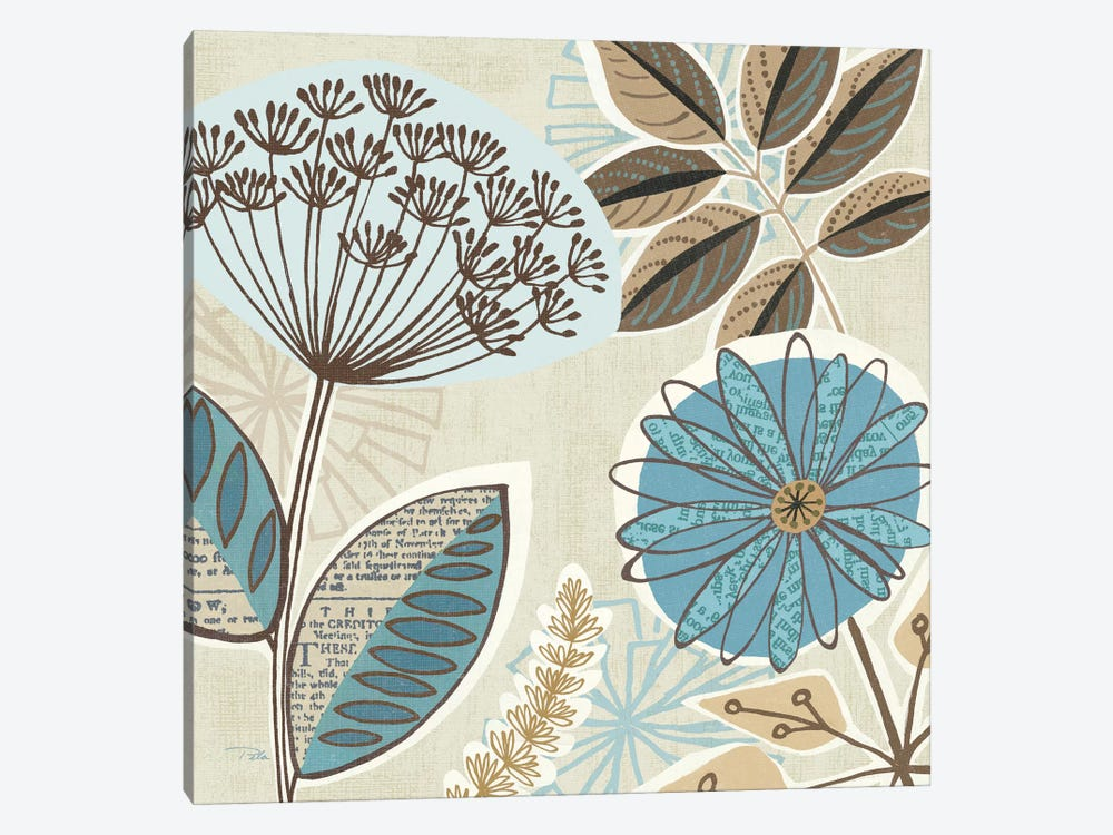 Funky Flowers IV by Pela Studio 1-piece Canvas Wall Art