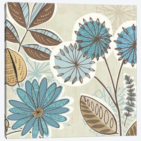 Funky Flowers V  Canvas Print #WAC2166} by Pela Studio Canvas Art Print