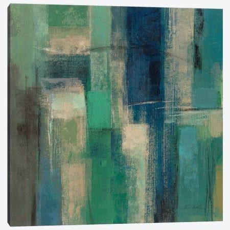 Emerald Fields Square I  Canvas Print #WAC2167} by Silvia Vassileva Canvas Print
