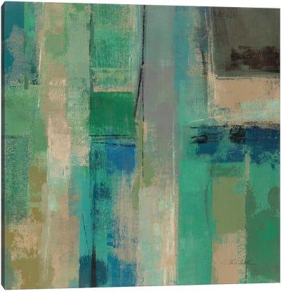 Emerald Fields Square II  Canvas Print #WAC2168