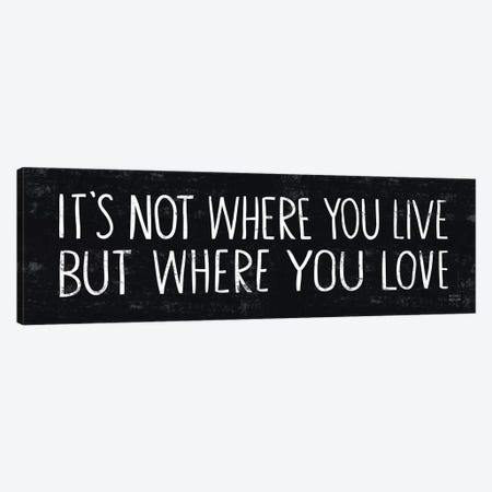 Its Where You Love  Canvas Print #WAC2171} by Michael Mullan Canvas Print