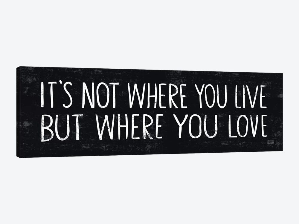 Its Where You Love  by Michael Mullan 1-piece Art Print