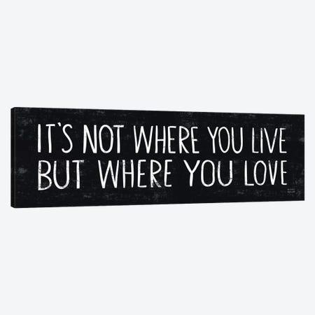 Its Where You Love  Canvas Print #WAC2171} by Michael Mullan Canvas Print