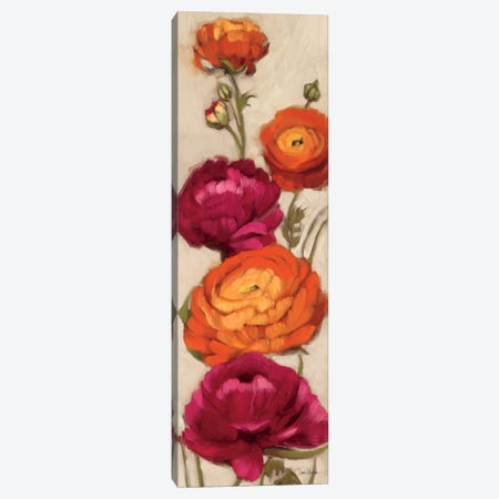 Free Range Roses I  Canvas Print #WAC2175} by Diane Hoeptner Canvas Wall Art