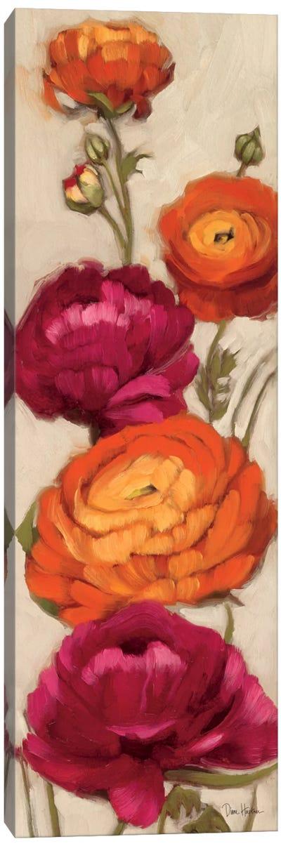 Free Range Roses I  Canvas Art Print